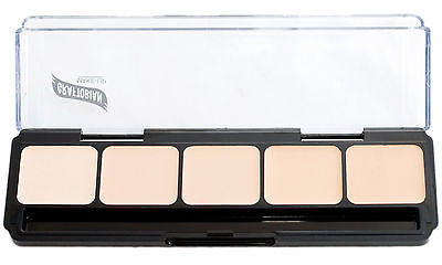 Graftobian HD Glamour Crème Foundations Palette, Neutral #1