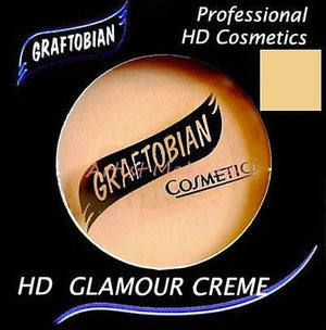 Graftobian HD Glamour Crème Foundation Graceful Swan (W) 1/2 oz Ultra Fair #1