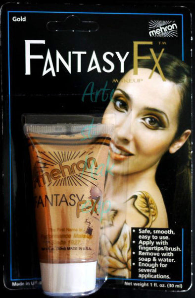 Mehron Costume Make Up Fantasy Makeup Halloween Face Painting F/X FFX 1oz Tube