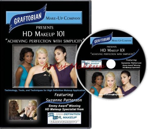 Achieving Perfection with Simplicity-HD Makeup 101 Graftobian DVD
