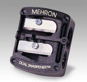 Mehron Pro Pencil Dual Sharpener Makeup Pencil Sharpening Tool 114DS