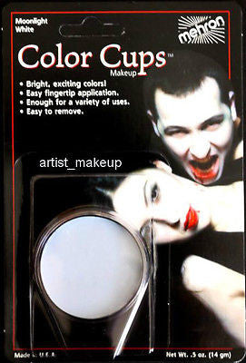 Mehron Color Cup Foundation Creme Clown Makeup Various Color Halloween Mardigras