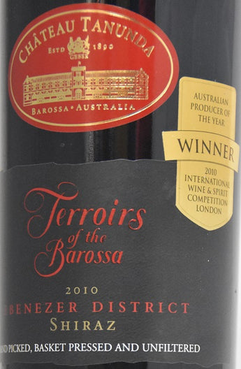 2010 Château Tanunda Terroirs of the Barossa Ebenezer District Shiraz