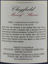 2014 Clayfield Massif Reserve Shiraz