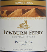 2014 Lowburn Ferry Home Block Pinot Noir