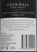 2015 Eden Hall Block 4 Shiraz