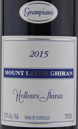 2015 Mount Langi Ghiran Hollows Shiraz