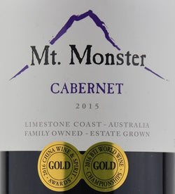 2015 Mt. Monster Cabernet