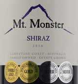 2015 Mt. Monster Shiraz
