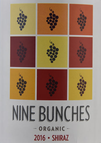 2016 Nine Bunches Thistle Hill Wines Organic Shiraz