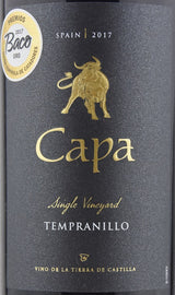 2017 Capa Single Vineyard Tempranillo