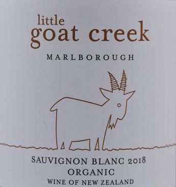 2018 Little Goat Creek Organic Sauvignon Blanc