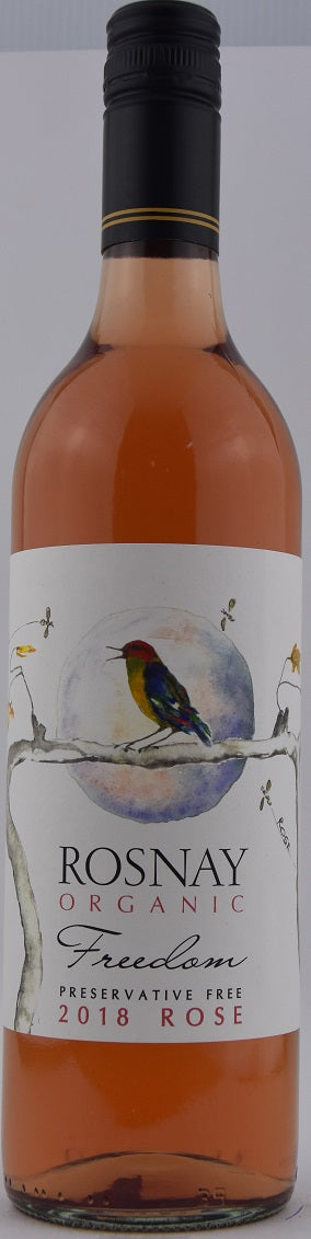 2018 Rosnay Freedom Organic Preservative Free Rosé