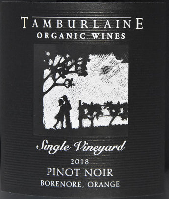 2018 Tamburlaine Single Vineyard Organic Pinot Noir
