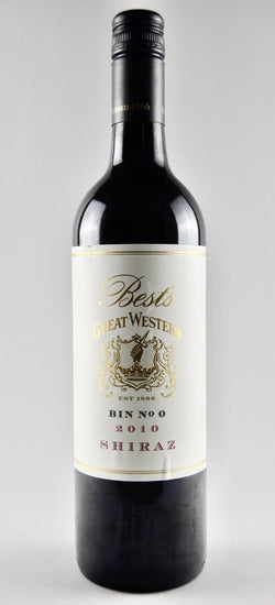 2010 Best's Great Western Bin 0 Shiraz