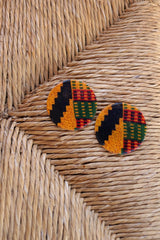 KENTE POST STUD EARRING