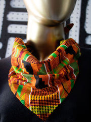 Convertible Bandana Mask (Kente)