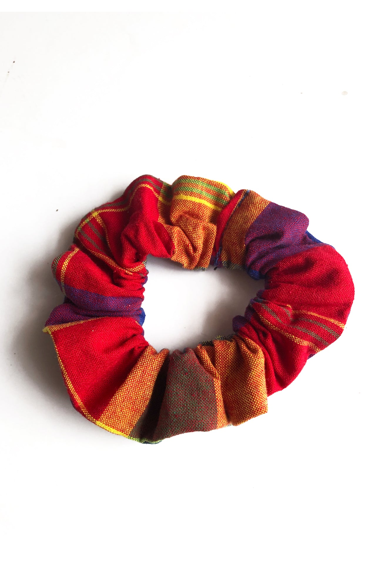 Thee Madras Scrunchie (Red-Multi)