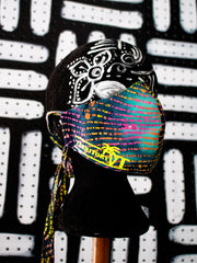 Customizable Designer Face Mask/Covering (Raving Tropic Nights)