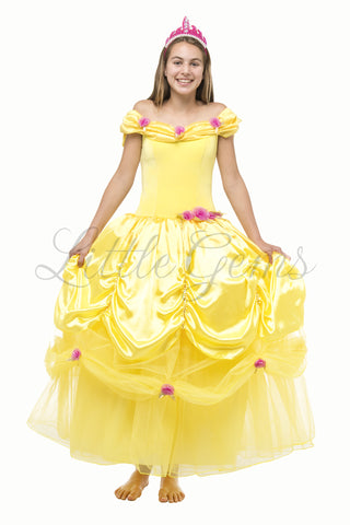 Belle inspired Adult dress