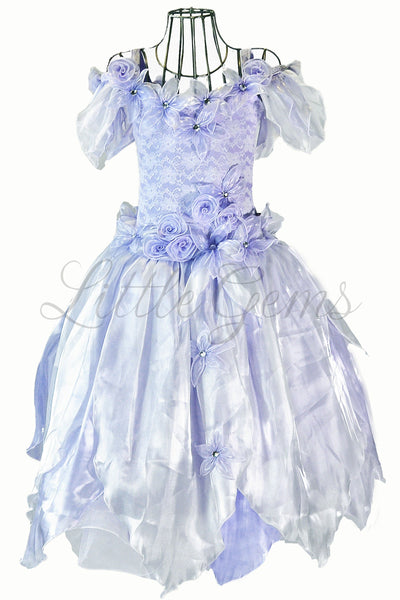 Apple Lace Dress in Lilac