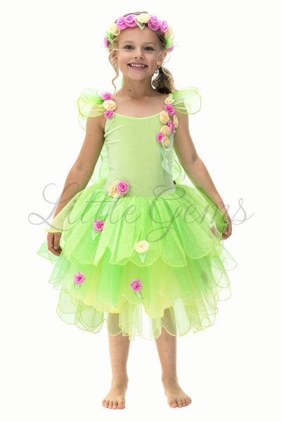 Butterfly Fairy Tinkerbell inspired Green