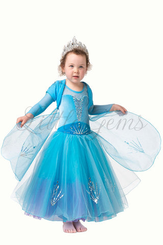Elsa Cape Light Blue Short Sleeve