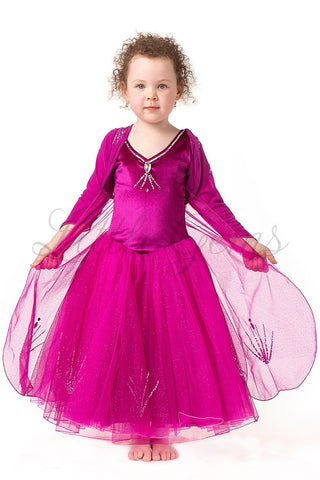 Elsa Cape Hotpink Long Sleeves