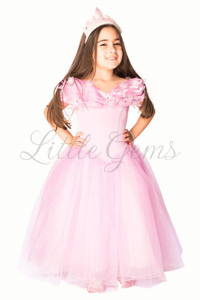 Cinderella Dress in Baby Pink Princess Style