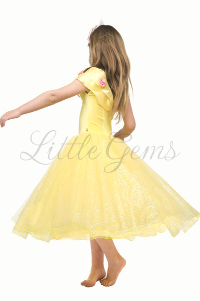 Ella Dress in Yellow (Belle)