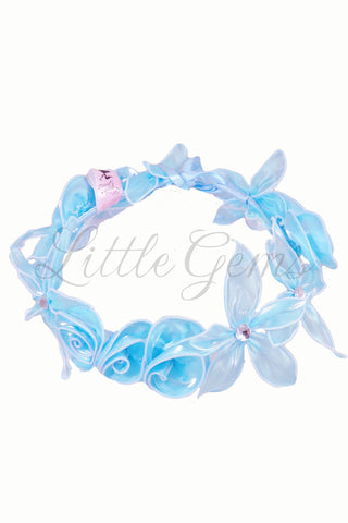V Garland Apple Lace Aqua