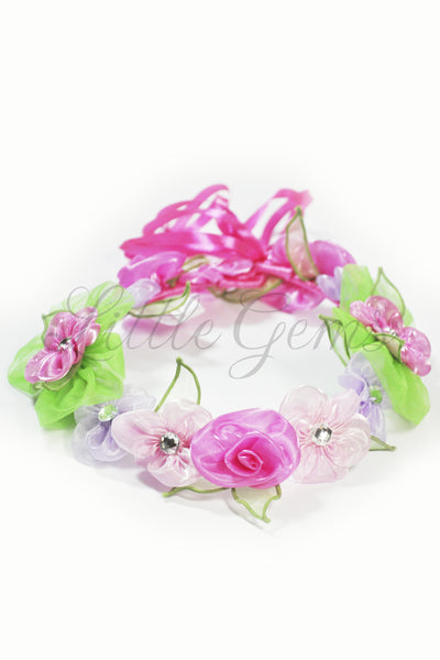 Garland Apple Blossom Pink