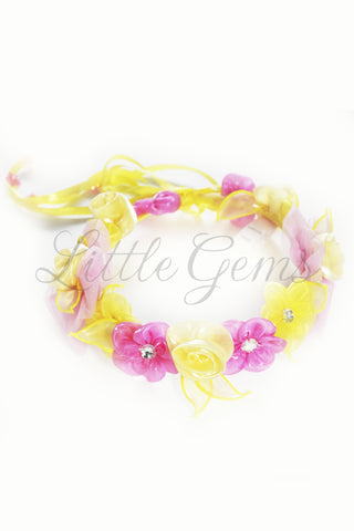 Garland Apple Yellow/Hot Pink