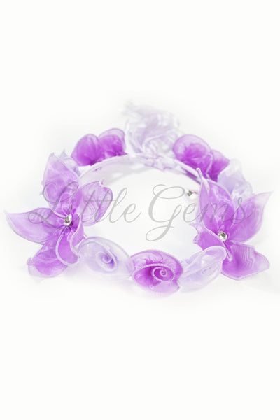 V Garland Iris Light Mauve