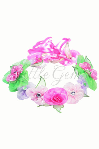 V Garland Apple Blossom Pink