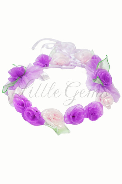 V Garland Butterfly Fairy Light Mauve