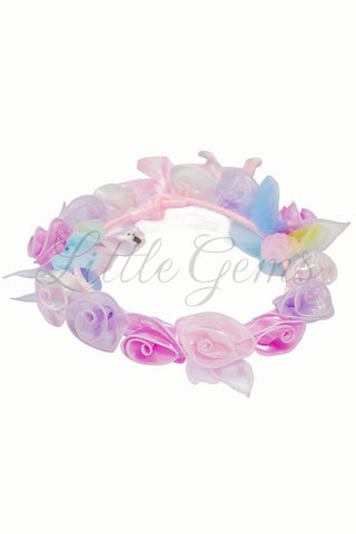 Garland Rainbow Butterfly Baby Pink