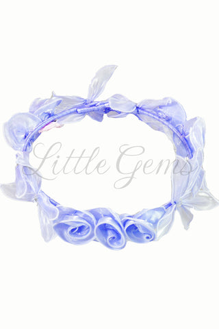 V Garland Apple Lace Lilac