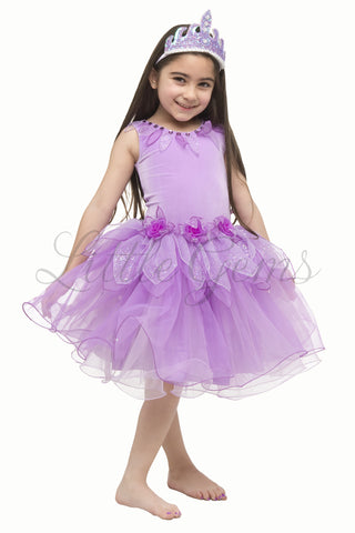 Lotus Dress Light Mauve