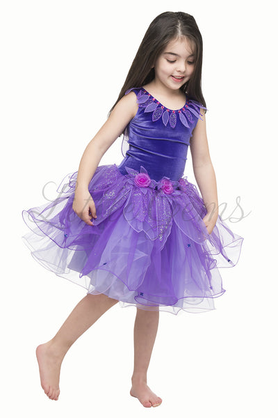 Lotus Dress Purple