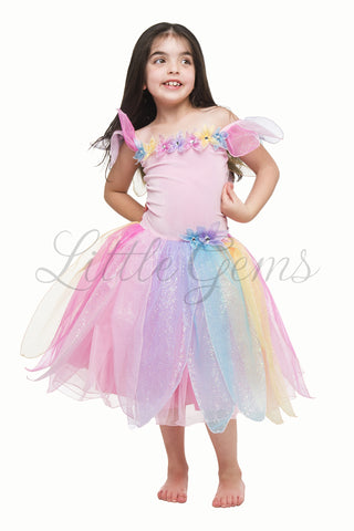 Luna Rainbow Dress