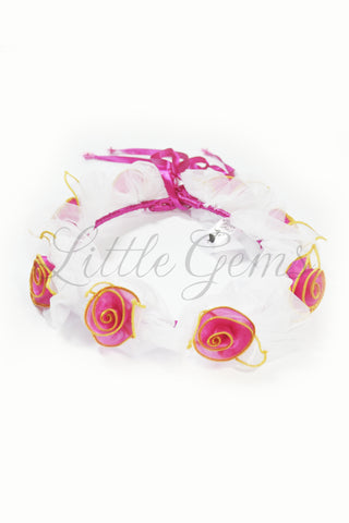 V Petal Garland Party Fairy Hot Pink