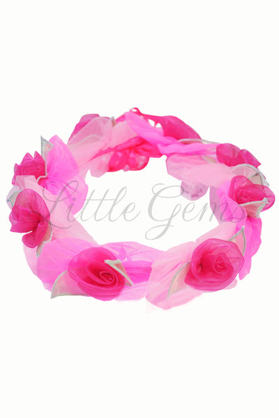 Garland Roses Candy/Hot Pink