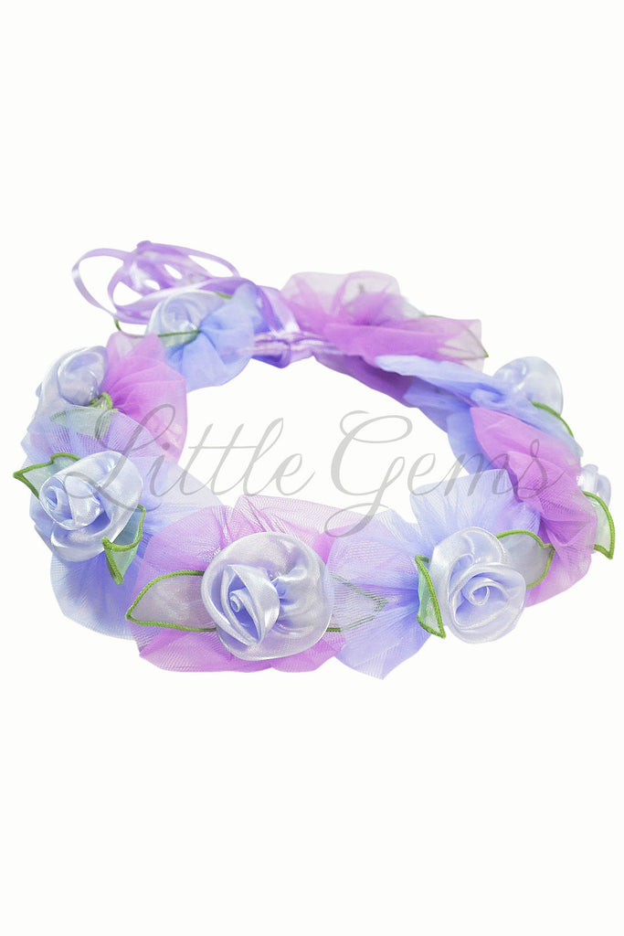 Petal Garland Roses Light Mauve