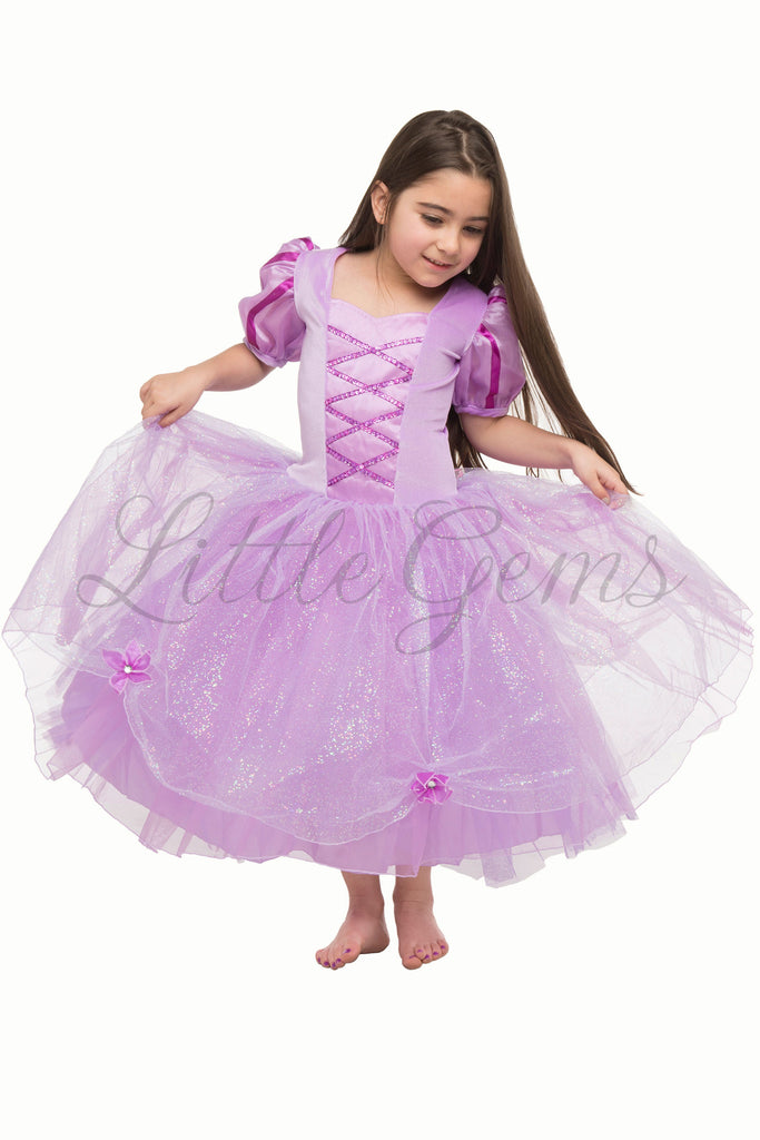 Rapunzel Inspired Dress
