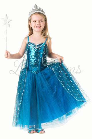 Snowprincess Elsa in Teal from Olaf's Frozen Adventure