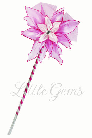 Iris Wand in Hot Pink