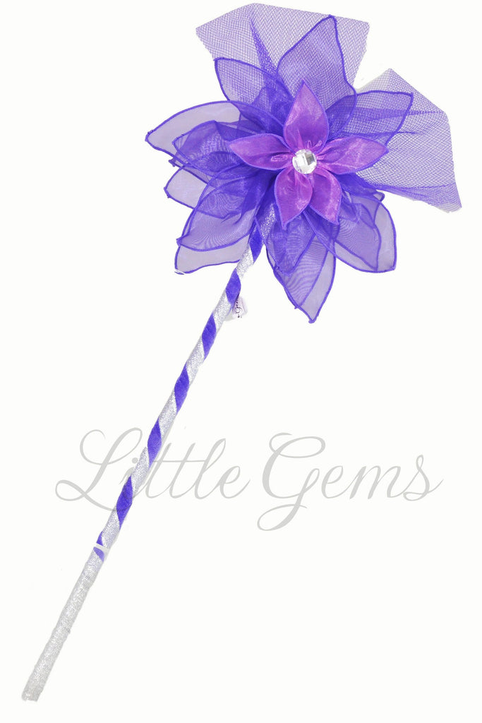 Wand Iris Purple