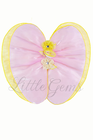 Petal Wing Apple Yellow/Baby Pink
