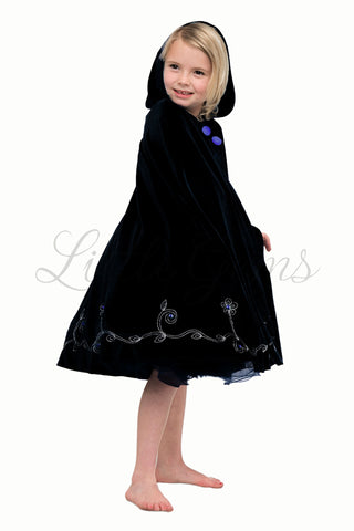 Long Cape Black